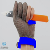 3301- Three Finger Stainless Steel Mesh Mesh Glove With EVA Strap For Hand Protection