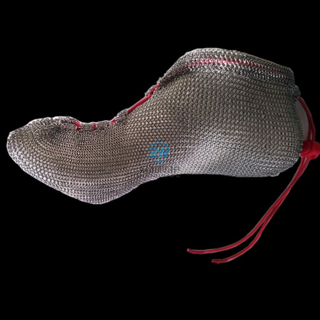 Stainless steel chain mail running shoes offered directly by manufacturer