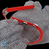 EVA strap with fittings for mesh butcher gloves