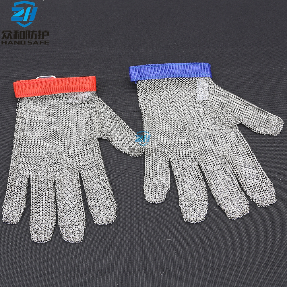 Five Finger Stainless Steel Gloves for Butcher