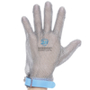 Plastic Strap Five Finger Stainless Steel Metal Mesh Gloves
