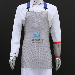 Stainless Steel Cut Resistant Chainmail Metal Mesh Apron