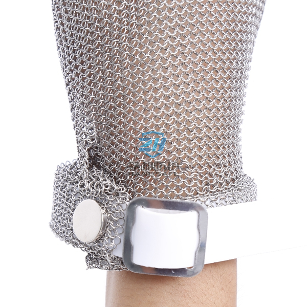 Stainless Steel Chainmail Gloves with Wholesaler Price