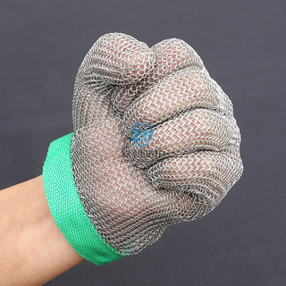 Cut Resistant Level 5 Metal Mesh Glove