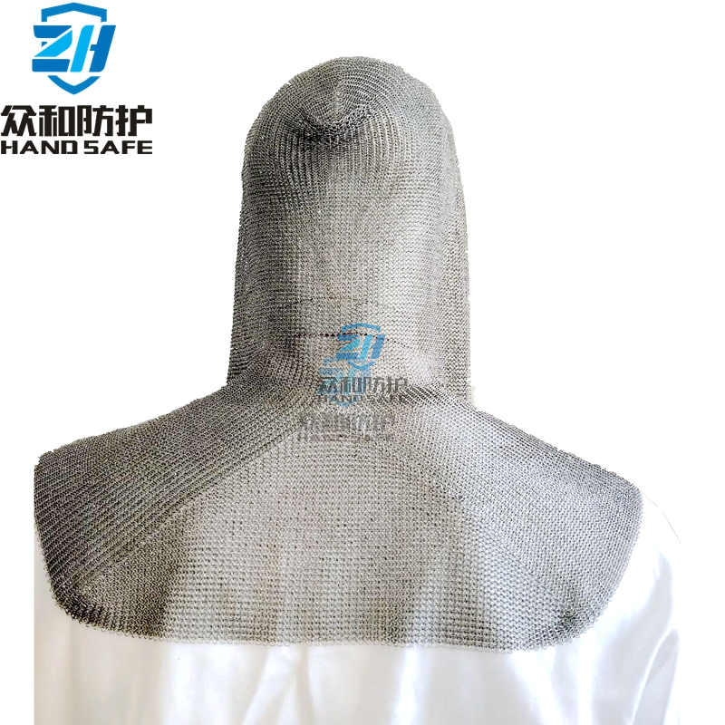 Stainless Steel Chain Mail Cut Resistant Hat